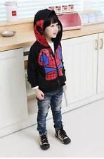 Amazing Spiderman Kid Jacket - black