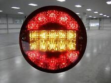 2 x LED Round Trailer Light HAMBURGER 12V TRAILER, TRUCK, CARAVAN