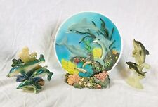 Decorative 3D Dolphin Plate, Other Sea Dolphin Art