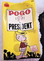 Pogo for President 1964-1st Crest Books Walt Kelly- & Pogo Even Better!
