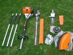 Stihl KM130 Combi Hedge Cutter Trimmer New Strimmer Pruner Chainsaw Kombi km131