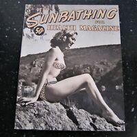 Sunbathing for Modern Health April 1954 Nudism Vintage Playboy