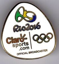 RIO 2016.OLYMPIC GAMES. MEDIA PIN. CLARO