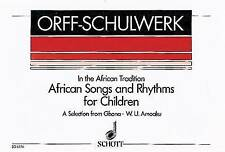 African Songs and Rhythms for Children: A Selection from Ghana for Voices and Or