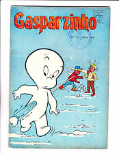 "Gasparzinho No 11 -1968 - Brazilian Casper -  ""Snowball Fight Cover!  """