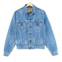 Levi's 70500 04 Ladies Vintage Blue Denim Trucker Jacket Size M