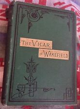 1878 EDITION : THE VICAR OF WAKEFIELD BY OLIVER GOLDSMITH : Illus. Hardcover