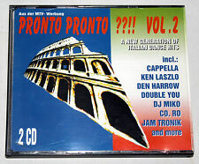 PRONTO PRONTO??!! Vol. 2 - A New Generation of Italian Dance Hits - 2CD (1994)