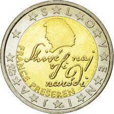 [#585150] Slovénie, 2 Euro, 2007, SUP, Bi-Metallic, KM:75