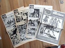 Lot de 4 supplements Western Géant  Journal Spirou Blasco