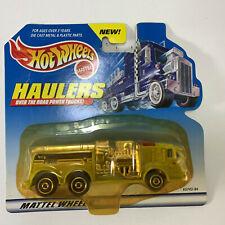 Green Fire Truck - Hot Wheels Haulers