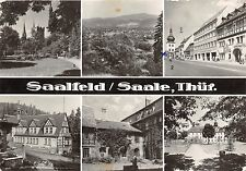 BR12608 Saalfeld Saale multi views  real photo germany