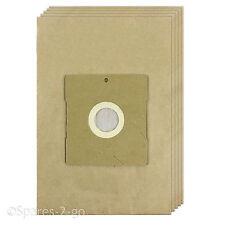 5 X ASPIRAPOLVERE filtrata sacchi di carta per DELONGHI HOOVER Sacchetto