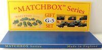 Matchbox Lesney  Product Display Gift Set G-5 style Box