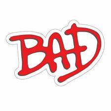 Michael Jackson's Bad Sticker