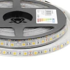 LEDBOX Tira LED Monocolor HQ SMD5050, DC12V, 5m (60Led/m) - IP68  Blanco cálido