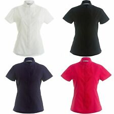 Classic Collar Fitted Formal Tops & Shirts for Women