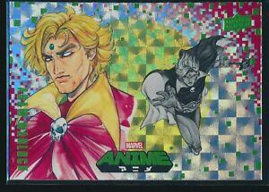2020 Upper Deck Marvel Anime Hyper Mosaic Parallel #18 Adam Warlock