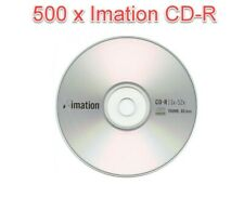 TDK Silver Imation 500 Discs CD-R 700MB 80 Min 52x No Spindle CDs Only