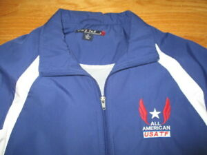 OLYMPIC All American USA Track & Field National Champion (MD) Lightweight Jacket