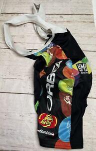 Santini Cycling Bib-Shorts Jelly Belly M Medium 44/46 Gel Jelly Beans One Piece