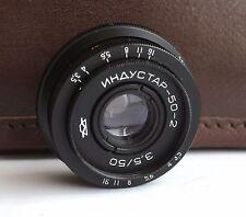 INDUSTAR 50-2 3.5/50 mm  50 mm M42 SONY NEX E MTF Micro 4/3 Canon EOS  new