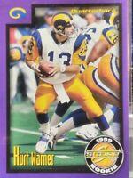 KURT WARNER LOS ANGELES RAMS HOF 1999 SCORE ROOKIE UPDATE ROOKIE CARD