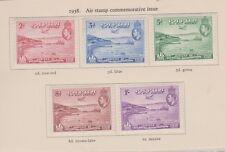 PAPUA NEW GUINEA C5-9 1938 airmails mint