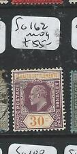 MALAYA STRAITS SETTLEMENTS (P2808B) KE 30C  SG 162  MOG