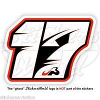 JULES BIANCHI 17 Black Formula 1 F1 100mm Sticker Adesivo Aufkleber Autocollant