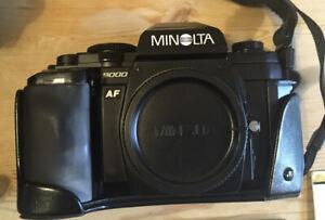 Minolta AF 9000 Camera & 3 x AF Lenses, Plus Soligor f28