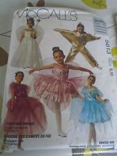 "5613  PATRON ""McCALL'S COSTUME FEE DANSEUSE ANGE TAILLE    8 A 10"