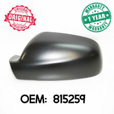 Left Wing Mirror Cover Casing Black For Peugeot 307 2001 - 2005