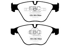 EBC Yellowstuff Front Brake Pads BMW 3 Series (E93) 335 (3.0 Turbo) (2011 > 13)