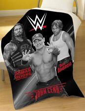 Official WWE Wrestling Stars Soft Fleece Blanket Childrens Adults 100cm X 150cm