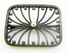 Hans HANSEN Danish Modernist Sterling Brooch 152~Vintage Denmark Mid Century Pin