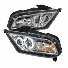 Ford Mustang 10-13 Projector Headlights Halogen only PRO-YD-FM2010-CCFL-DRL-C