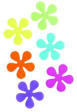 6PC Non Slip da bagno fiori Ventose Qualità antisdrucciolo Doccia Tappetino resistente