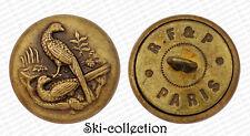 Ancien Bouton de Chasse. Faisans. France (1881-1900). 25 mm