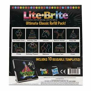 Basic Fun Lite Brite Ultimate Classic Refill Pack - Celebration Theme - 10 Re...