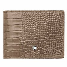 Wallet for man Montblanc Meisterstuck Selection 113281 with card holder taupe