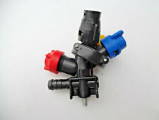Crop Sprayer Quadruple Nozzles X 3  For Tractor Mounted Sprayer : END Units
