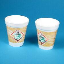 1000 Thermo Kaffeebecher Styroporbecher Schaumstoff Thermobecher 200ml 0,2l