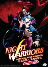 DVD Anime NIGHT WARRIOR: Darkstalkers' Revenge Complete Series (1-4) English Dub