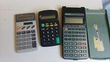 lot de 3 calculatrices