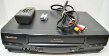 Quasar VHQ-40M, VCR with Remote and A/V Cables  - TESTED/WORKS