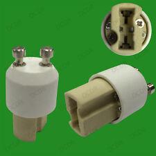 GU10 To G9 Ceramic Light Bulb Base Socket Lamp Adaptor Converter Holder V2