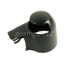 For VW GOLF PASSAT POLO TOURAN 04-08 Black Rear Wind Wiper Arm Cap Nut Cover New