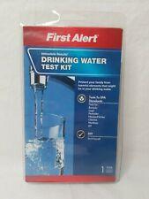 First Alert WT1 Drinking Water Test KitExp. 09/2020