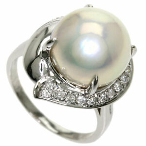 TASAKI   Ring South Sea Pearl Pearl Diamond Platinum PT900